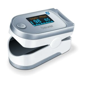 Beurer Pulsoximeter - PO 60 Bluetooth® Innovative Vernetzung via Bluetooth®